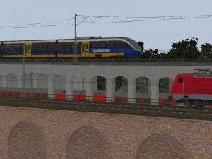 Gleismauer-Arkaden