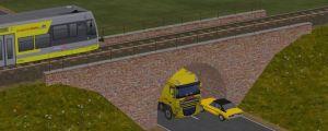Gleismauer-Arkadentunnel