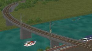 Gleismauer-Brücken