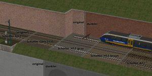 Gleismauer-Tauschtexturen