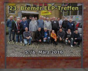 "Plakatwand ""23. Bremer EEP-Treffen"""
