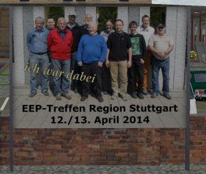 "Plakatwand ""EEP-Treffen Region Stuttgart"""
