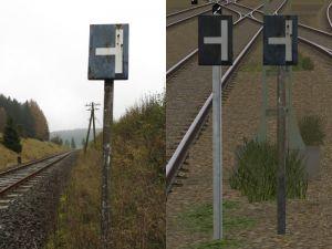 """Signaltafeln Ts1 """"Nachschieben einstellen"""""""