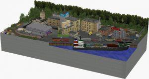 Timesaver & Inglenook Port
